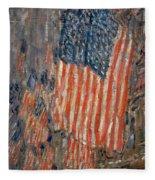 Flags On The Waldorf Fleece Blanket