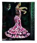 Flamenco Series No. 10 Fleece Blanket