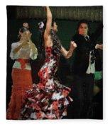 Flamenco Series No 13 Fleece Blanket