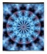 Flames Kaleidoscope 4 Fleece Blanket