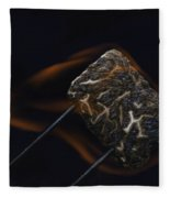 Flaming Marshmallow Fleece Blanket