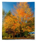 Flaming Fleece Blanket