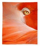 Flamingo Eye Fleece Blanket