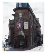 Flat Iron Annapolis - Maryland Inn Fleece Blanket