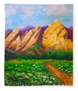 Flat Iron Colorado Fleece Blanket