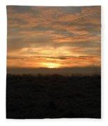 Flat Line Fleece Blanket