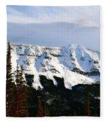 Flat Top Mountain Fleece Blanket