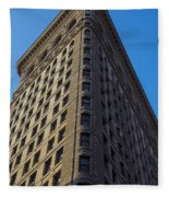 Flatiron Building New York Fleece Blanket