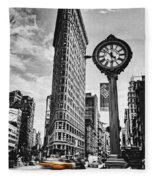 Flatiron Rush Fleece Blanket