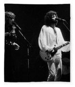 Fleetwood Mac In Amsterdam 1977 Fleece Blanket