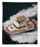 Fleming Yacht's Corvette Fleece Blanket