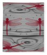 Flexfly Dragonfly Fleece Blanket