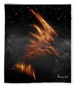Flight Of The Eagle - Featured In Comfortable Art And Spect Artworks Notecard Possibilities  Fleece Blanket