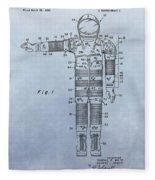 Flight Suit Patent Fleece Blanket