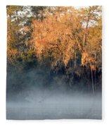 Flint River 14 Fleece Blanket