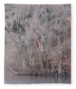 Flint River 2 Fleece Blanket