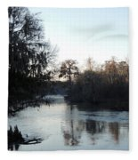 Flint River 23 Fleece Blanket