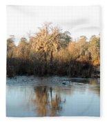 Flint River 27 Fleece Blanket
