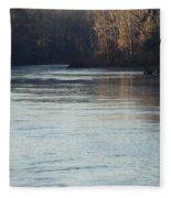 Flint River 31 Fleece Blanket