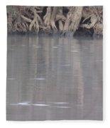 Flint River 6 Fleece Blanket