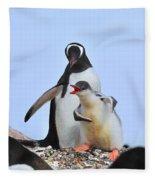 Flipper Flexing Fleece Blanket