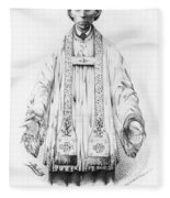 F�lix Varela Y Morales (1788-1853) Fleece Blanket