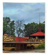 Fllw Welcome Center - Spring Green- Wisconsin Fleece Blanket