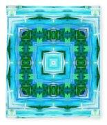 Float 1 Excerpt Design Fleece Blanket