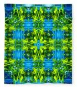 Float 3 Excerpt Design Fleece Blanket
