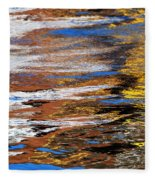 Floating On Blue 12 Fleece Blanket
