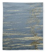Floating On Blue 17 Fleece Blanket