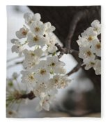 Flowering Tree Fleece Blanket