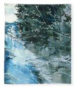Floods 3 Fleece Blanket