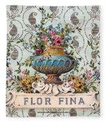 Flor Fina Fleece Blanket