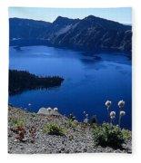 Flora Of Crater Lake Fleece Blanket