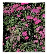 Floral Afternoon Fleece Blanket