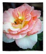 Floral Bee Fleece Blanket