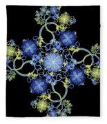 Floral Celebration 1 Fleece Blanket