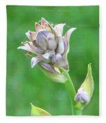 Floral Crown Fleece Blanket