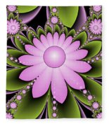 Floral Decorations Fleece Blanket