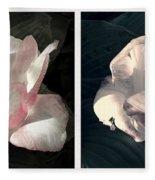 Floral Duo Fleece Blanket