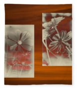 Floral Early Garden Light 07 Fleece Blanket