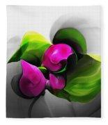 Floral Expression 111213 Fleece Blanket