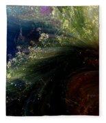 Floral Fantasia Fleece Blanket