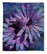 Floral Fiesta - S14c Fleece Blanket