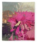 Floral Fiesta - S33bt01 Fleece Blanket
