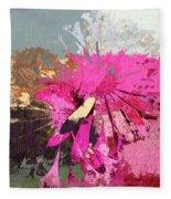 Floral Fiesta - S33ct01 Fleece Blanket