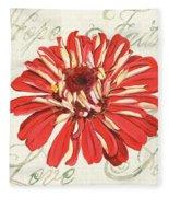Floral Inspiration 1 Fleece Blanket