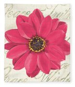 Floral Inspiration 3 Fleece Blanket