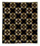 Floral Pattern Fleece Blanket